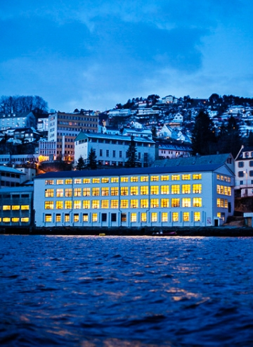 Factory by the Fjord