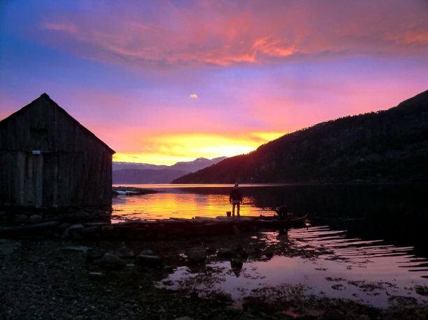 Tramonto Sunset in the Fiord