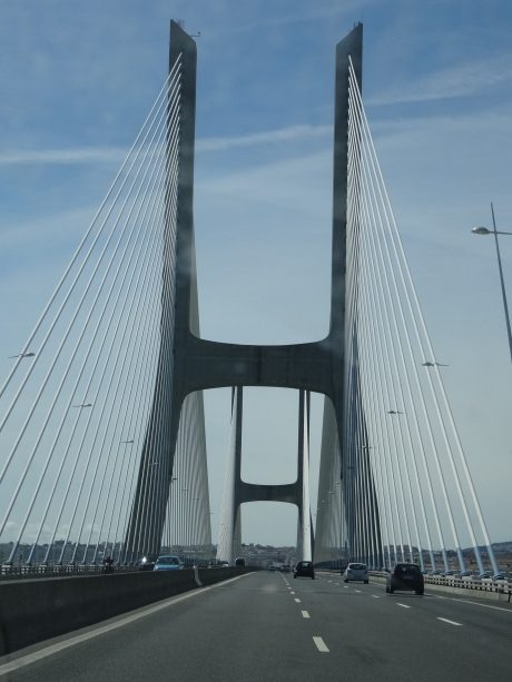 6 - Lisbona Il Ponte Vasco de Gama 17.2 km DSC01008