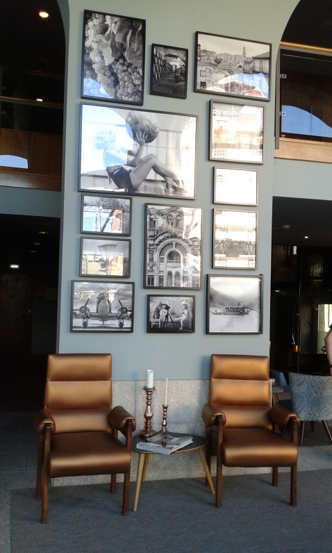 Interno hotel Ribeira Porto